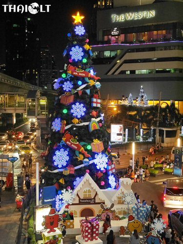 Best Places for Christmas Celebration in Bangkok