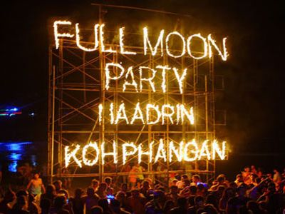Full Moon Party New Year's Eve 2019 in Koh Phangan
