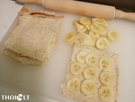 Banana Roll Toast