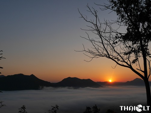 Phu Tok Mountain in Chiang Khan, Loei