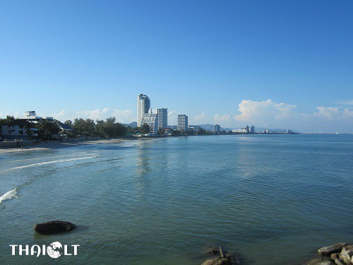 Panoramic view of Hua Hin