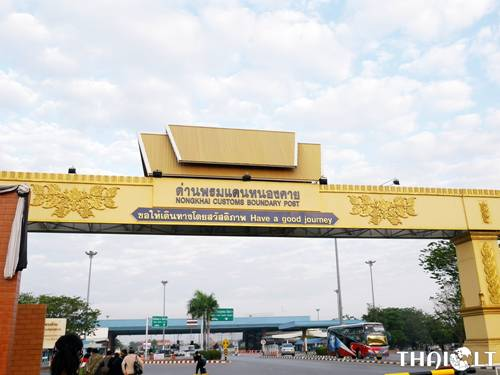Border Crossing: Thailand to Laos via the Friendship Bridge