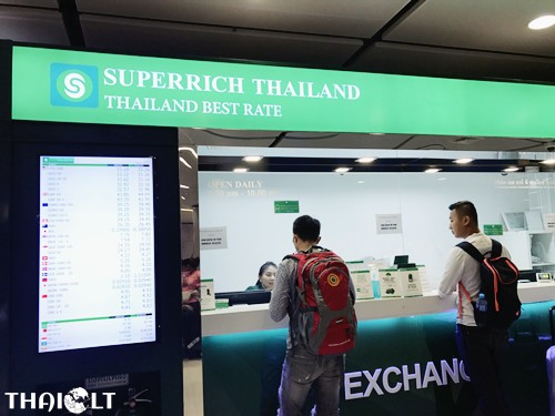 Superrich Green At Suvarnabhumi Airport