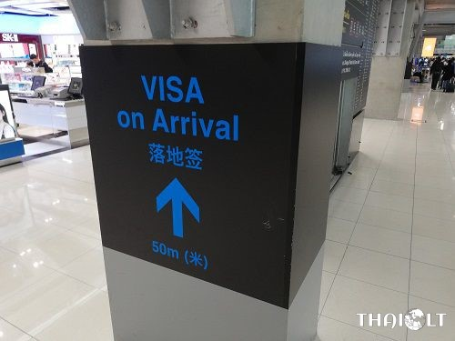 Thailand Visa on Arrival at Krabi International Airport